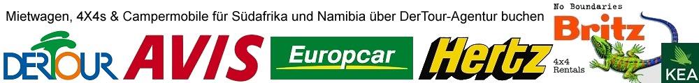Südafrika Autovermietungen